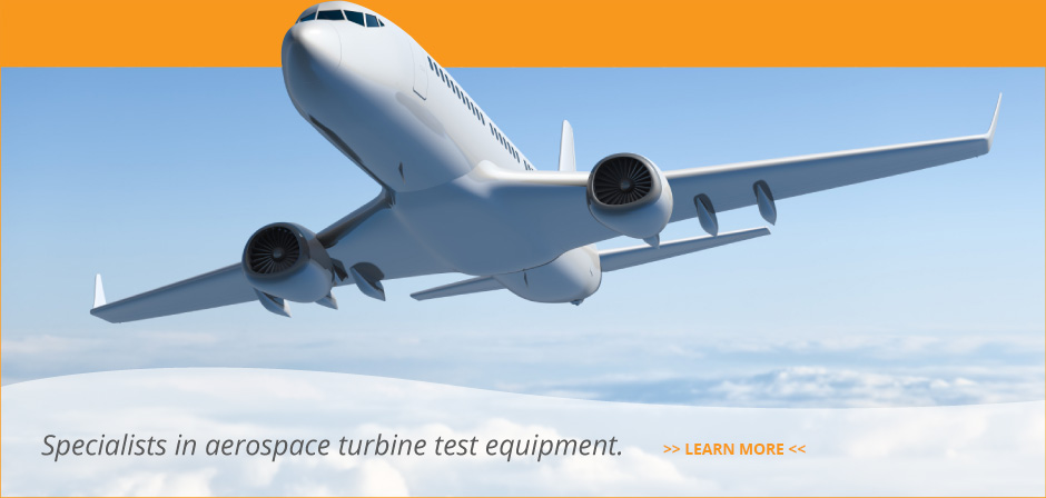 Specialists in aerospace turbine test equipment.